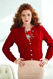 Lace Hearts Cardi by Martin Storey