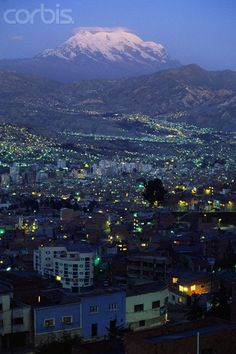 La Paz - Bolivia  My Bolivian friend invited me to his country and now i'm considering...
