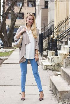 How to style a waterfall jacket this spring