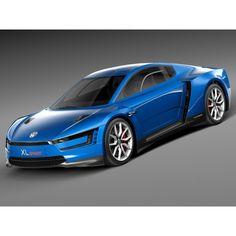 Volkswagen XL Sport 2015 - 3D Model