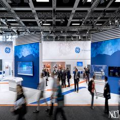 The 405 sq. experience for GE at Innotrans 2018 depicted innovation. This international trade fair and convention for transport technology takes place in Berlin, Germany and attracts over visitors. Make an impact by creating an experience with us. Transport Technology, Transportation Technology, Trade Fair, Trade Show, Exhibition Booth, Exhibition Stands, Business Baby, Experiential Marketing, International Trade