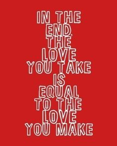 the beatles my fav quote