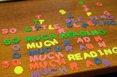 Τα πολύχρωμα και τέλεια γραμματάκια!