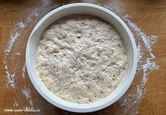 Pekárkův velmi snadný chléb – 3 varianty – Vůně chleba Oatmeal, Sugar, Breakfast, Food, The Oatmeal, Morning Coffee, Rolled Oats, Eten, Meals
