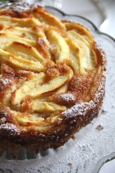 Torta di mele gluten free con farina di mandorle