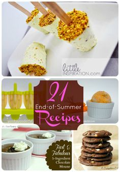 21 End of Summer Recipes to inspire you!! -- Tatertots and Jello