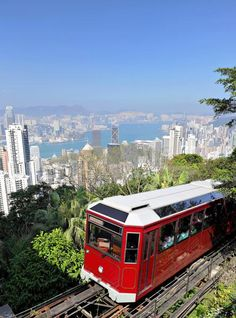 Victoria Peak is a mountain in the western half of Hong Kong Island. You can reach it with the Peak Tram. For the best of art, food, culture, travel, head to theculturetrip.com