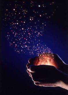 Unleash the magic from your heart today...you never know what might happen : )