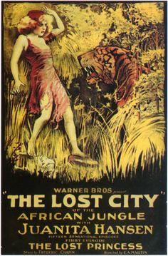 La città perduta (The Lost City) è un serial in 15 episodi del 1920 diretto da E.A. Martin. Interpretato da Juanita Hansen, era prodotto dalla Selig Polyscope Company e distribuito dalla Warner Bros. in sala nel gennaio del 1920.