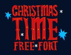 """Consultare la pagina di questo progetto @Behance: """"Christmas Time FREE Font"""" https://www.behance.net/gallery/20660157/Christmas-Time-FREE-Font"""