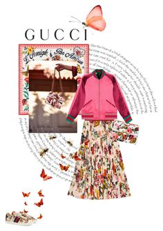 """Presenting the Gucci Garden Exclusive Collection: Contest Entry"" by theitalianglam ❤ liked on Polyvore featuring Gucci and gucci"