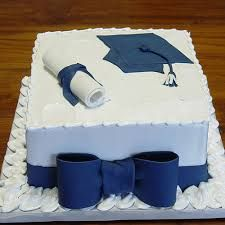 ~ Graduation Cake in Blue with Bow DessertDesignsByL . ~ Abschluss-Kuchen im Graduation Cake Designs, College Graduation Cakes, Graduation Cupcakes, High School Graduation, Graduation Ideas, Congratulations Cake, Bowl Cake, Pecan Nuts, Marble Cake