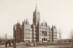 City and County Building, seat of city government since 1894. It also served as Utah's first statehouse from 1896 until the current Utah State Capitol was dedicated on October 9, 1916.[83]