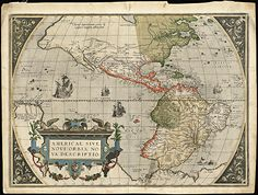 35 best antique world maps images on pinterest antique maps antique 1570 world map print gumiabroncs Images