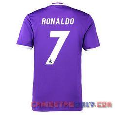 Camiseta Ronaldo Real Madrid 2016 2017 segunda