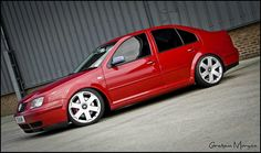 My old bora, i do miss it! VW Bora 1.8T Sport, lowered, Audi S4 rims