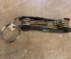 Just an image by one of our customers proudly showing his key organizer stuffed neatly with quite a bit of house keys. A slim and efficient solution to otherwise keys clutter House Keys, Key Organizer, Clutter, Hand Guns, Slim, Organization, Image, Firearms, Getting Organized