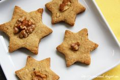 Mammabook: Biscotti al miele e alle noci (senza zucchero) – (No sugar) Honey and Walnut Cookies