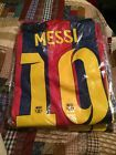 For Sale - Fc Barcelona Messi Home Kit Adult Large - See More at http://sprtz.us/BarcelonaEBay