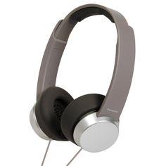 Audifonos Panasonic #metal #gris #moda