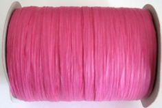 50 Yards of PAPER Beauty Pink Raffia (4.75 USD) by GardeningGalAtWork