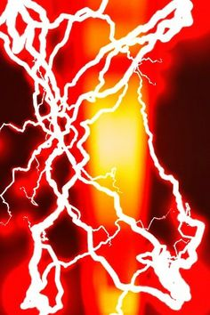 The Electric Red Pillar