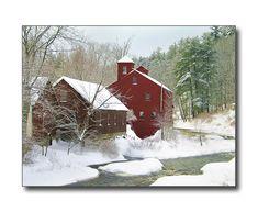winter in new england | New England Winter Scene New Boston, NH photo - Scott Dommin photos at ...