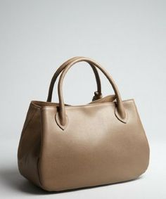 Furla taupe textured leather 'New Giselle' top handle bag on shopstyle.com