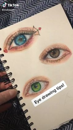 Discover recipes, home ideas, style inspiration and other ideas to try. Art Drawings Sketches Simple, Pencil Art Drawings, Drawing Art, Eye Drawings, Emoji Drawings, Drawing Eyes, Eye Drawing Tutorials, Drawing Techniques, Art Tutorials