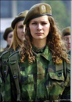 Beautiful Military Women Around the World