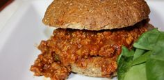 Crock Pot Turkey Sloppy Joes