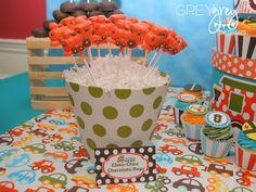 12 Choo Choo Train White Chocolate Lollipops. $18.95, via Etsy.