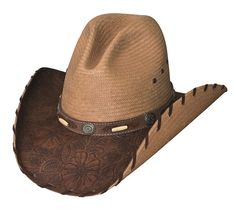 95ada9f776b Treasure of the West Straw Hat Cowboy Hats