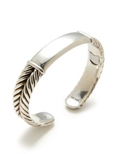 David Yurman Men's 15mm Twisted Double Row Cuff Bracelet by Estate Jewelry on Gilt.com
