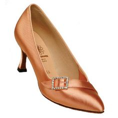 Classic buckle closed toe... Love this pair of classic ballroom shoes!