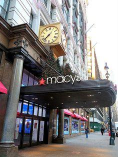 Macy's, 151 West 34th Street, New York City. via John Wisniewski