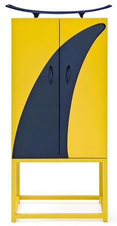 Mattia Bonetti et Elisabeth Garouste Cabinet Furniture, Fine Furniture, Furniture Makeover, Modern Furniture, Furniture Design, Contemporary Cabinets, Modern Cabinets, Contemporary Design, Burger Bar