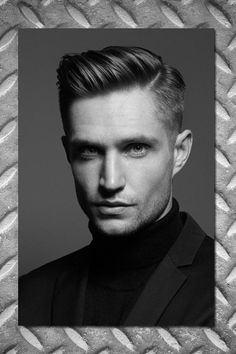 In die Stirn fallende Haare, rockige Längen und Undercut - hier sehen Sie die Frisuren-Trends 2016 für Männer