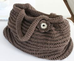 crochet bag, image only, no pattern.