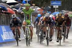 """The Tourminator"" Peter Sagan beating out Cavendish and Greipel in a sprint....yeah, I think I've heard of those guys before..."