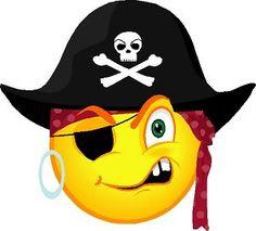 Image result for pirate emoji