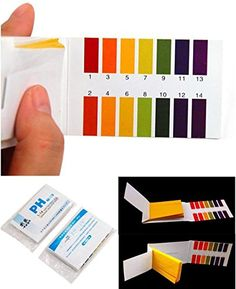 160 Tester Majestic Modern pH Test Strips Practical Sensitive Evaluate Urine and Saliva with Colors Chart ** Click on the image for additional details.