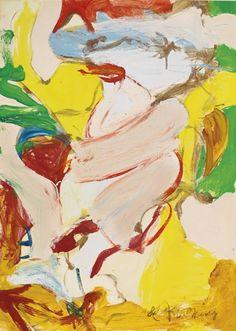 Willem de Kooning - Woman as Landscape XII.