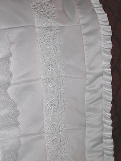 Wedding dress quilt