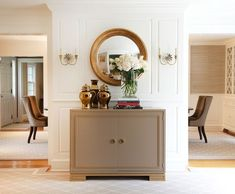 Z Gallerie Portola Mirror $499 vs Wayfair Round Convex Mirror $310 round convex gold mirror look for less copycatchic luxe living for less budget home decor and design daily finds