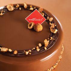 Couronne chocolat et noisettes