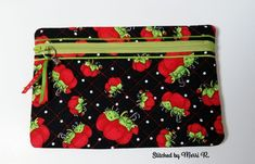 Quilted Zip Bag (6x9) - Oma's Place