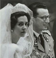 However, Astrid's elder son, Baudouin, wed Spanish Noblewoman, Fabiola de Mora y Aragon, who wore the tiara for their wedding on 15 December 1960
