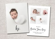 Birth Announcement Template, Birth Announcement Photos, Birth Announcement Girl, Birth Announcements, Wedding Humor, Newborn Photographer, Photo Cards, Photo Book, Things To Sell