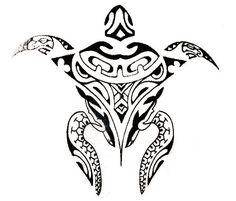 tortue maori tatoo